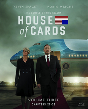 House of Cards (season 3) - Blu-ray cover