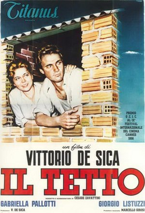 The Roof (film) - Image: Il tetto movie poster 1956