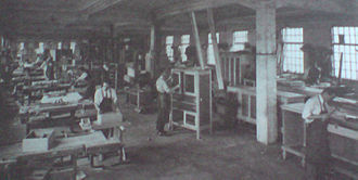 Aleksandar Ehrmann - Image: Inside the furniture company Bothe Ehrmann