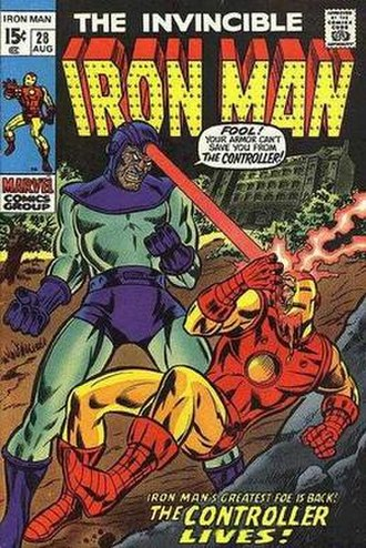 Howard Stark - Image: Iron Man 28 The Controller Lives! (1970) Cover