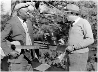 Jim Jackson (musician) - Jackson (left) and King Vidor on the set of the film Hallelujah!