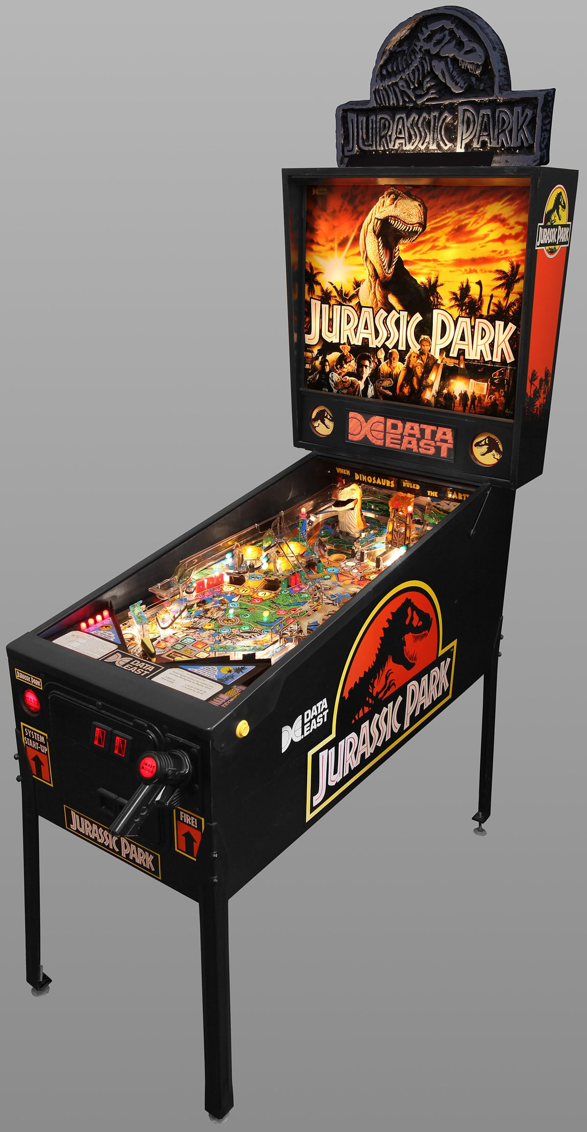 Jurassic Park Pinball Wikipedia