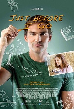 Just Before I Go - Theatrical release poster