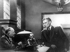 Pavel Kadochnikov - Kadochnikov (right) in Secret Agent (1947)