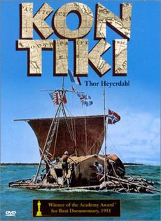 <i>Kon-Tiki</i> (1950 film) 1950 Norwegian film directed by Thor Heyerdahl