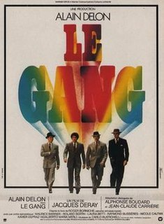 <i>Le Gang</i> 1977 film by Jacques Deray