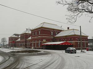 Leopoldov - Image: Leopoldov railway station