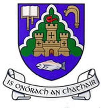 Lismore, County Waterford - Image: Lismore.coat.of.arms