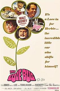 <i>The Love Bug</i> 1968 film directed by Robert Stevenson