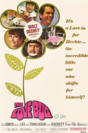 The Love Bug - Theatrical release poster