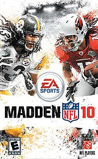 <i>Madden NFL 10</i> 2009 American football video game