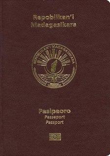Malagasy passport