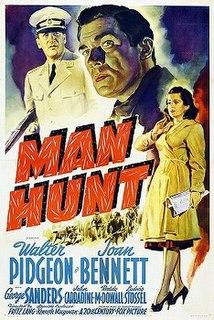<i>Man Hunt</i> (1941 film) 1941 film by Fritz Lang