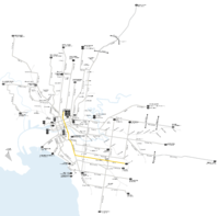 Melbourne trams route 6 map.png