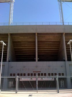Entrance to Memorial Stadium