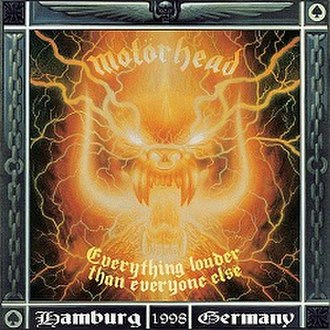 Everything Louder than Everyone Else - Image: Motörhead Everything Louder Than Everyone Else (1999)