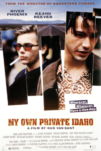 My Own Private Idaho - Theatrical release poster