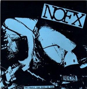 The P.M.R.C. Can Suck on This - Image: NOFX The P.M.R.C. Can Suck on This re release cover