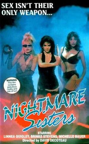 Nightmare Sisters - Image: Nightmare Sisters Film Poster