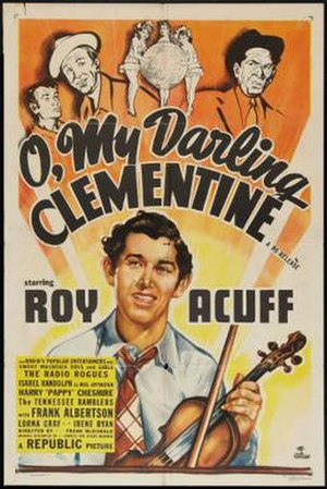 O, My Darling Clementine - Theatrical release poster