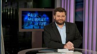Paul Murray Live - Paul Murray on set