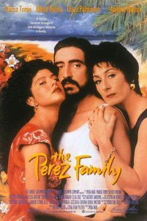 The Perez Family - Theatrical release poster