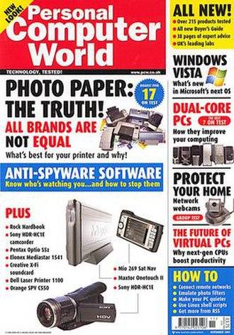 Personal Computer World - Image: Personal computer world nov 05