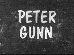 Peter Gunn - Image: Peter Gunn Title Card