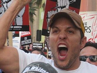 Matthew Peterman - Image: Peterman WGA Rally 1