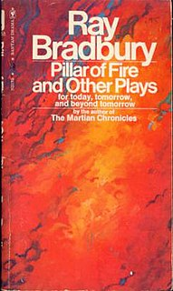 <i>Pillar of Fire and Other Plays</i> book by Ray Bradbury