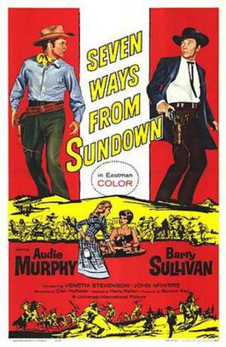 Seven Ways from Sundown - Image: Poster of the movie Seven Ways from Sundown