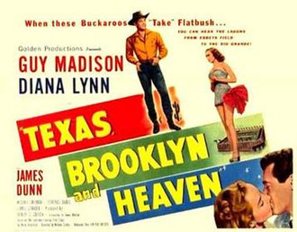 Texas, Brooklyn and Heaven - Image: Poster of the movie Texas, Brooklyn and Heaven