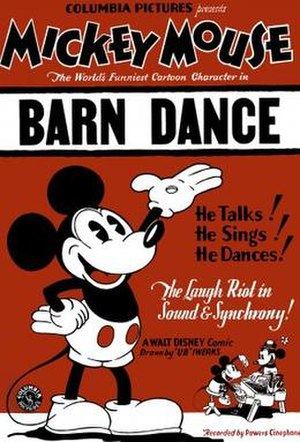 The Barn Dance - Image: Poster of the movie The Barn Dance