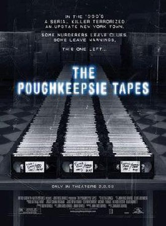 The Poughkeepsie Tapes - Theatrical release poster