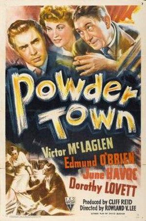 Powder Town - Film poster