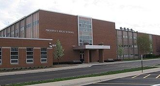 Prospect High School (Illinois) - Image: Prospect High School, IL