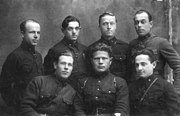 Kursants (cadets) of the Red Army's Artillery School in Chuhuyiv, 1933