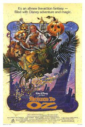 Return to Oz - Theatrical release poster by Drew Struzan