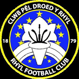 Rhyl F.C. - Image: Rhyl FC Logo