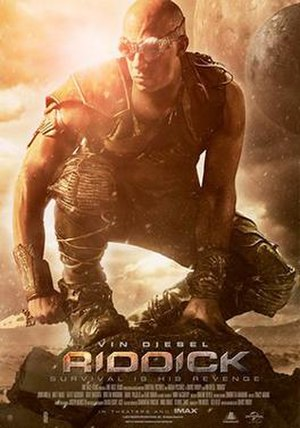 Riddick (film) - Theatrical release poster