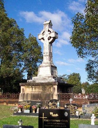 Rookwood Cemetery - Celtic cross, Rookwood
