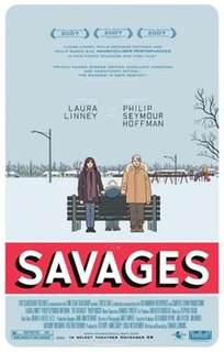 <i>The Savages</i> (film) 2007 film by Tamara Jenkins