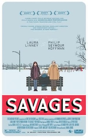 The Savages (film) - Theatrical release poster