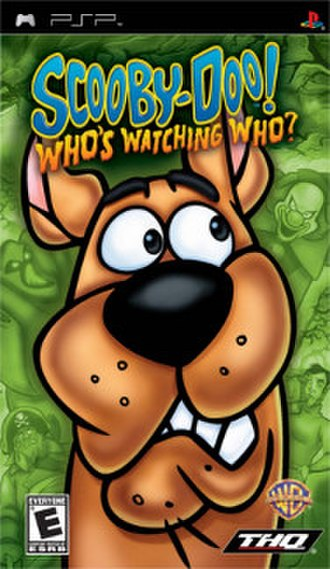 Scooby-Doo! Who's Watching Who? - Image: Scooby Doo! Who's Watching Who Cover