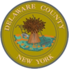 Official seal of Delaware County