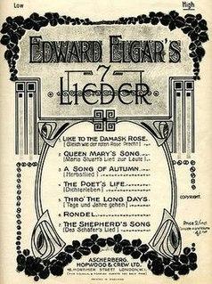 <i>Seven Lieder</i> (Elgar)