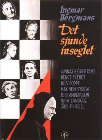 The Seventh Seal - Theatrical release poster