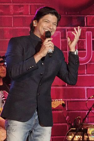 Shaan (singer) - Shaan performing Live at Alive India in Concert (Bangalore), Dec 2015