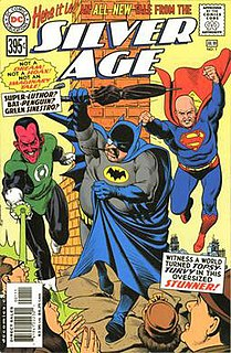 Silver Age (DC Comics) twelve part storyline that ran through a series of one shot comic books published by DC Comics in 2000