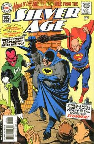 Silver Age (DC Comics) - Image: Silver Age